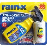 美國 RAINX 大容量汽車用擋風玻璃雨敵+除油膜 ( 二合一 )