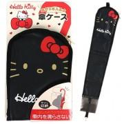 日本 SANRIO HELLO KITTY 汽車用椅背椅邊雨傘袋