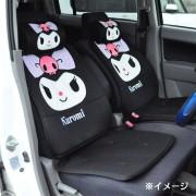 日本 SANRIO KUROMI 汽車用座椅套坐椅套坐墊座墊 ( 一對裝 )