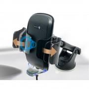 日本 SEIKO 汽車用語音指導自動開關無線充電手機座