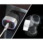 日本 SEIKO 12V24V汽車用多功能USB一拖三手機充電器 PD TYPE-C 42W