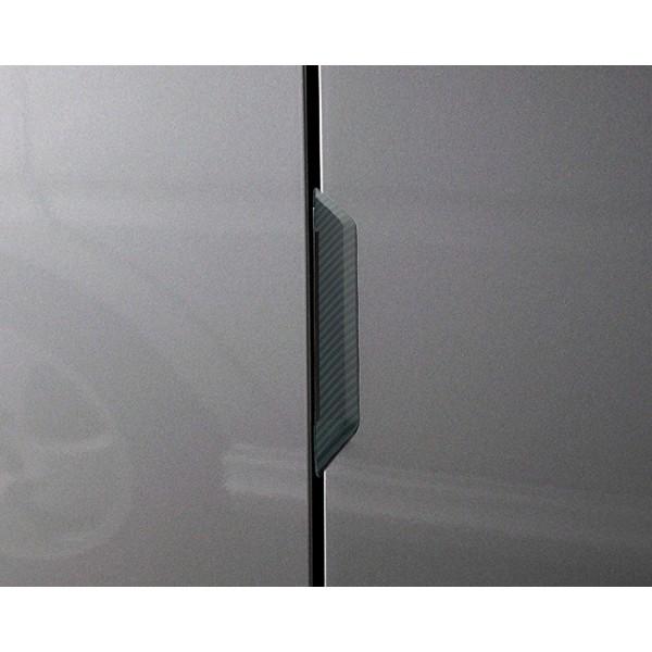 日本 SEIKO 汽車用碳纖紋門邊防撞 --- 日本製