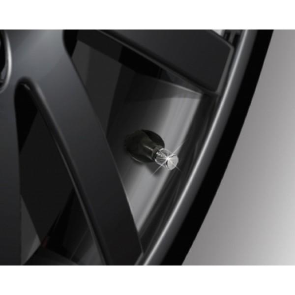 日本 SEIKO 汽車用銀色電鍍胎氣咀胎咀