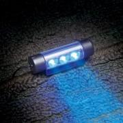 日本 SEIWA LED 藍色音樂燈