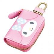 日本 SEIWA 汽車用MELODY 粉紅鎖匙包車匙套智能鑰匙蓋