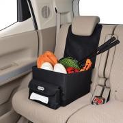 日本 SEIWA X OUTDOOR 汽車用坐椅收納袋雜物箱椅背寵物墊