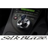 日本 SILKBLAZE 豐田 TOYOTA PRIUS 30系 混能車專用入波蓋轉波蓋自動波蓋電鍍裝飾蓋