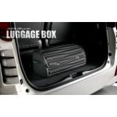 日本 SILKBLAZE 汽車用可摺疊車尾箱皮質雜物袋收納袋雜物箱收納箱