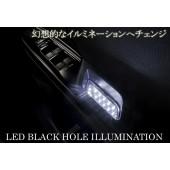 日本 SILKBALZE 豐田 ALPHARD VELLFIRE 20系 車內門邊扶手LED裝飾燈 ( 白光 )