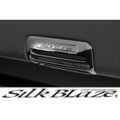 日本 SILKBALZE 豐田汽車用門邊門底f燈電鍍裝飾貼