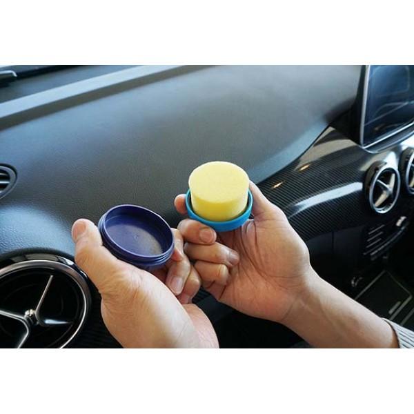 日本製 SOFT99 車內膠質門板表台面保護劑圓盒未塗裝裝塑料用保養油