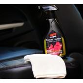 日本製 SOFT99 汽車用皮質清潔劑保護劑奢華皮革保養劑 ( 清潔 + 保護 )