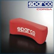 意大利 SPARCO 汽車用C型超舒適賽車頸枕 - 紅色