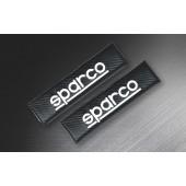意大利 SPARCO 汽車用安全帶套 --- 碳纖紋黑