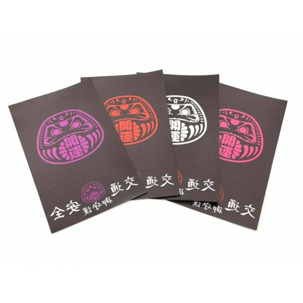 香港汽車行車証專用靜電貼達摩交通安全御付守護 ( 4色可選 )