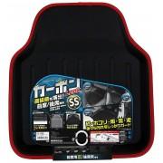 日本 TOMBOY 汽車用碳纖紋紅邊防污前座 / 後座 地膠