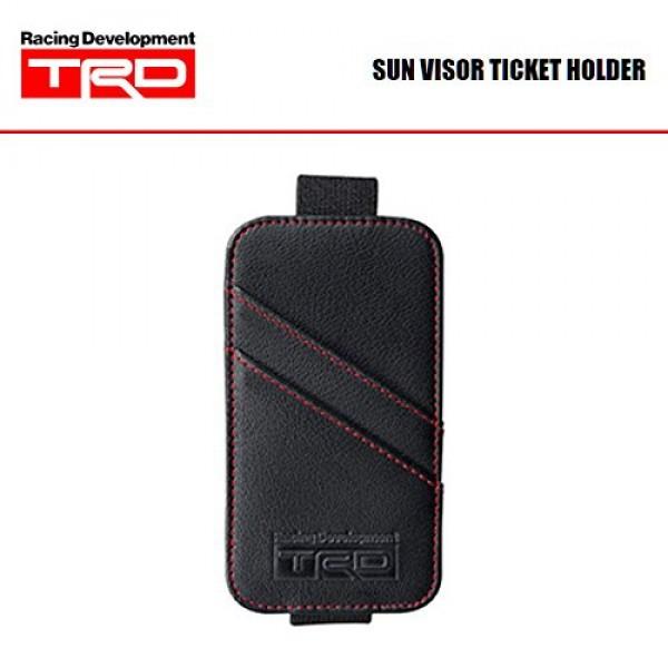 日本製 原廠 TRD 豐田汽車用太陽擋板咭片袋咭片夾