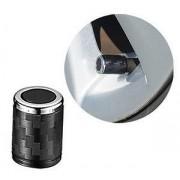 台灣製 碳纖紋電鍍銀邊胎氣咀
