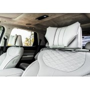 韓國製 VIP 汽車用頭等倉高級豪華皮質頭枕