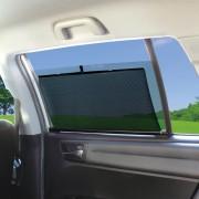 日本 YAC 汽車用伸縮窗網窗簾防曬隔熱 ( 3種尺寸 )
