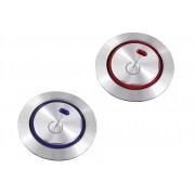 日本 YAC 本田 HONDA 汽車用 ENGINE START 按鈕制專用金屬裝飾套裝飾貼保護貼