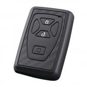日本 YAC 豐田車汽車用碳纖紋車匙套智能鑰匙蓋