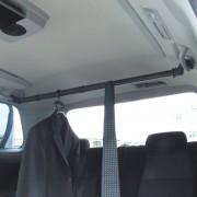 日本 YAC 汽車掛勾衣架伸縮杆