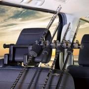 日本 YAC 汽車用多功能多用途椅背掛鉤掛勾掛鈎釣魚魚杆魚竿收納固定架