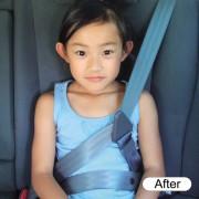 日本 YAC 汽車用小童專用安全帶固定夾