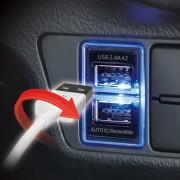 日本 YAC 豐田車Toyota專用USB充電器