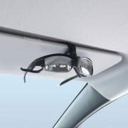 日本 YAC 汽車用太陽擋板太陽眼鏡收納眼鏡夾眼鏡固定支架