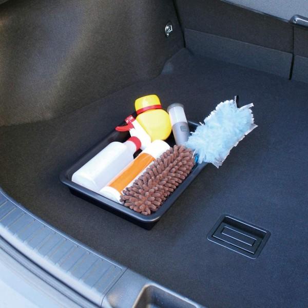 日本 YAC 汽車用車內車尾箱物品收納架固定墊防滑貼紙