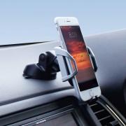 日本 YAC 汽車用地深吸力手機座電話座
