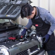 日本 AMON  汽車用維修車工作服防污服修車衣服圍裙