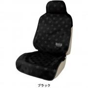 日本 BONFORM 汽車內單座防水防污墊寵物墊座椅套司機位乘客位(星星款)
