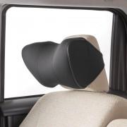 日本 BONFORM 汽車用3D立體成形透氣舒適頸枕頸墊頭枕