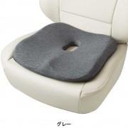 日本 BONFORM 汽車用3D立體花灰色座椅座墊坐椅坐墊