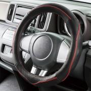 日本 BONFORM 汽車用真皮革軚盤套軚環套 ( 2色可選 )