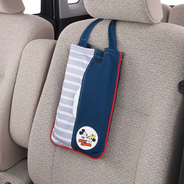 日本 BONFORM 米奇老鼠 MICKEY MOUSE 米尼 汽車用椅背紙巾袋