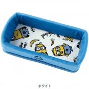 日本 BONFORM MINION 小黃人 汽車用防滑墊收納袋雜物袋表台托盤紙巾盒