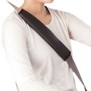 日本 BONFORM 汽車用皮質安全帶套(一對裝)