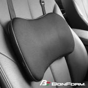 日本 BONFORM 汽車用姿勢調整輔助背墊腰墊腰枕