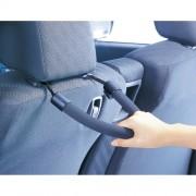日本 CARMATE 汽車用椅背頭枕扶手手抽拉手掛勾