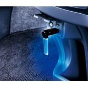 日本 CARMATE 汽車用USB燈LED燈裝飾燈車內氣氛燈 --- 藍光