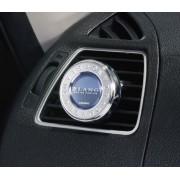 日本 CARMATE BLANG 汽車用冷氣出風口專用香水香薰香味電鍍圈消臭劑UFO ( 白麝香味 )