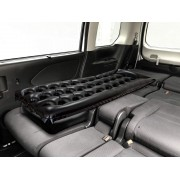 日本 CRETOM 汽車用黑色充氣床墊頭抌 休息 車中泊