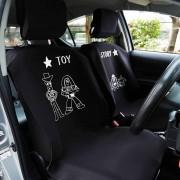 日本 DISNEY 迪士尼 TOY STORY 玩具總動員 汽車用防水墊防污墊椅套座墊寵物墊司機位乘客位 ( 2件裝 )