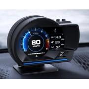 HUD ACTISAFETY A500 OBD2 汽車用抬頭顯示器車速轉數水溫電壓 - 繁體版