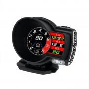HUD F8 OBD2  汽車用抬頭顯示器車速轉數水溫電壓
