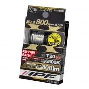 日本 IPF LED T20 6500K 白光 倒車燈 日行燈 800流明